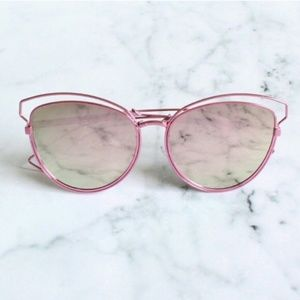 Accessories | Think Pink wire frame girly sunnies